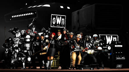 [SFM] - TF2 Cult of Personality - oWn Army by LoneWolfHBS