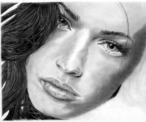 Megan Fox WIP by kaybees