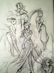 legend of zelda female cast by eekster