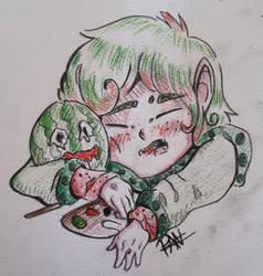 Melon Cutie by Sparkylovecupcakes