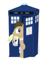 Doctor Whooves in 'Is it Safe Outside?' by dm29