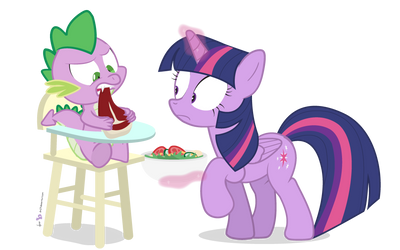 Steak and Salad [!D.2] by dm29