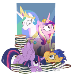 Accident at the Library by dm29