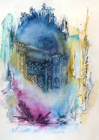 The door of time by AlexandraSerres