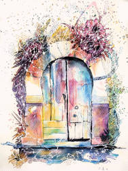 La porte de l'oubli / The door of forgetfulness by AlexandraSerres