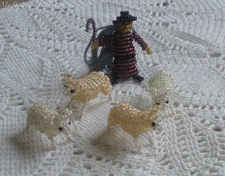 Beaded Shepherd by MyBeadedFantasy