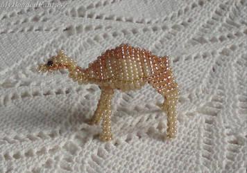 Beaded Camel by MyBeadedFantasy