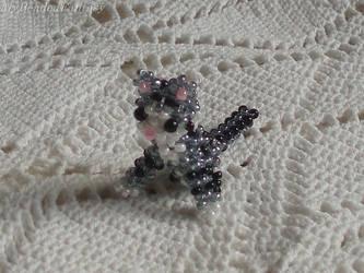 Beaded Cat by MyBeadedFantasy