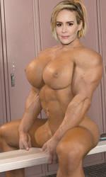 Sarah Paulson big by arthurwatkins
