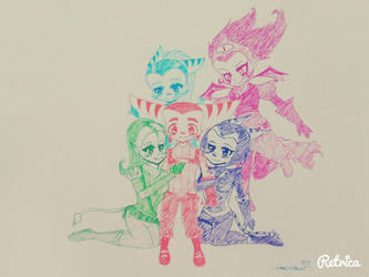 All girls for ratchet by NACCHAN96