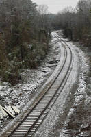 Snowy S-Curve by EilonwySedai