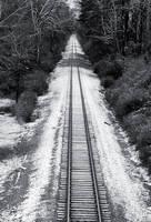 Wintery Vanishing Point by EilonwySedai