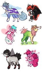 [$2 each] [OPEN] random adopts by viixens