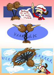 DODUO USED FLY by eternalsaturn