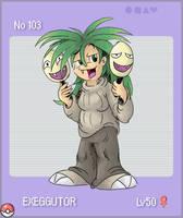 No. 103 - Exeggutor by eternalsaturn