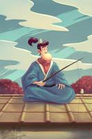 Master Higuchi by Naphanyah