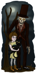 Happily Reunited - Fran Bow by SinjaWolfpaw