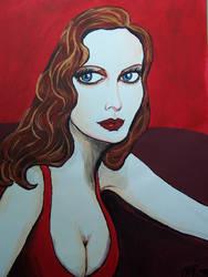 Scarlet by AnnMariePinciveroArt