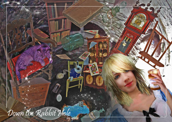 In Wonderland - Photo Montage by igtica