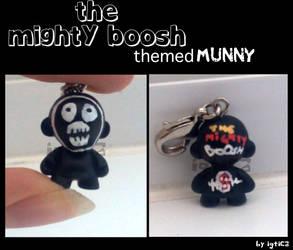Mighty Boosh Zipper Munny by igtica
