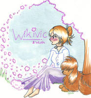 For the ever so lovely Wikivic by igtica