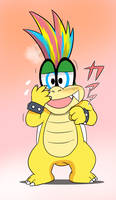 You are shy Iggy by Spray-POKA