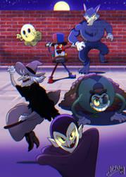 Night s Show Halloween Version by Spray-POKA