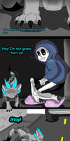 Sans's new pet (page 3) by joselyn565