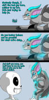 Sans's new pet (page 9) by joselyn565