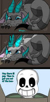 Sans's new pet (page 12) by joselyn565