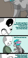 Sans's new pet (page 14) by joselyn565