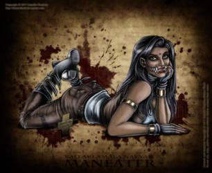 Ballari Amala Nayyar - Maneater by HotaruThodt