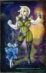 SU - Aqua-Javert and Yellow Topaz by HotaruThodt