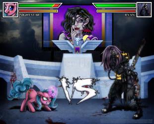 Tantriss' Coliseum - Ryan vs Night Star by HotaruThodt