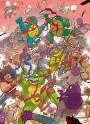 mutant ninja turtles by OscarCelestini
