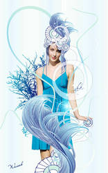 Sea Goddess-Thetis by waver-h
