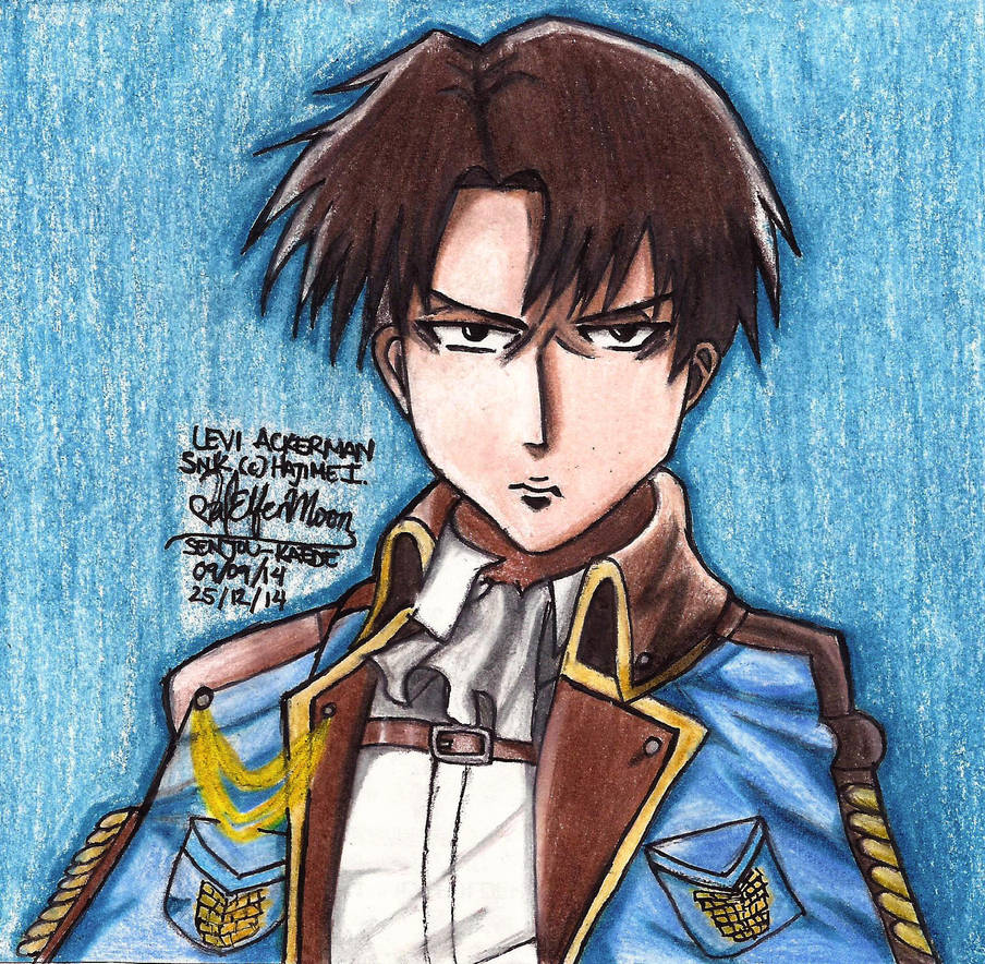 Levi Ackerman Special Outfit by ValElfenMoon on DeviantArt