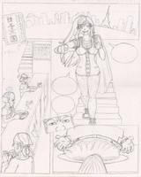 Tonkatsu Tomoe Comic 1 of 4 by xyxtlin
