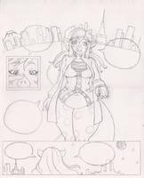 Tonkatsu Tomoe Comic 4 of 4 by xyxtlin