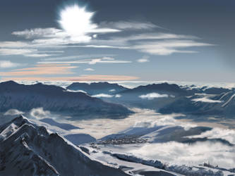 Matte painting training 04 by oennarts
