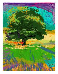 Unbridled Tree by melemel