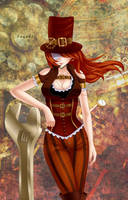 Steampunk by Sayuki-Art