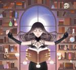 Night's Witch by Sayuki-Art
