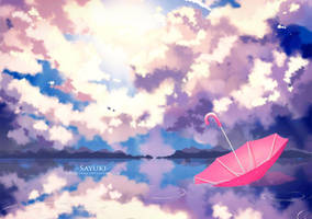 Umbrella by Sayuki-Art