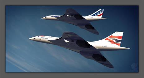 Concorde : Duo by Inuksuk