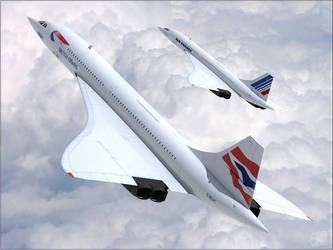 Concorde by Inuksuk