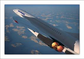 Concorde IV by Inuksuk