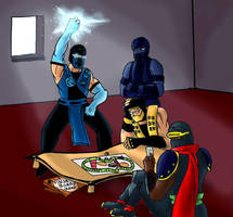 Ninja Boardgame by muscle82002