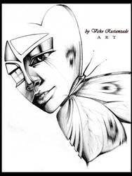 butterfly in her dream by rustamzade
