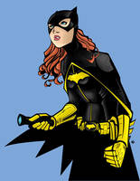 Batgirl black and yellow by thisisevermore